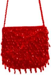 Glittertasje Luxe Rood