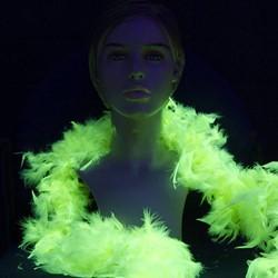 UV / Blacklight Boa Geel