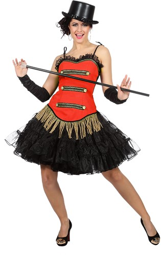 Toppers Circus Corset Rood voor dames