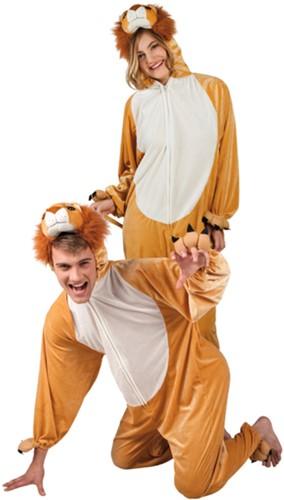 Kostuum Leeuw Pluche