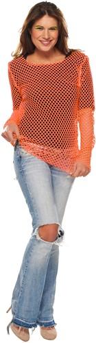 Nethemd Oranje Fluor