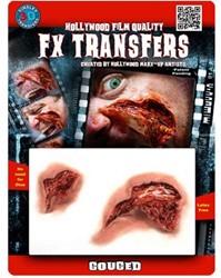Professionele Wond FX - Gekerft  (Gouged)