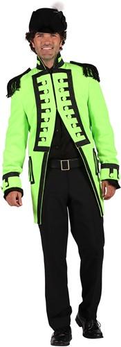 Carnavalsjas Nelson Lime Groen Luxe voor heren