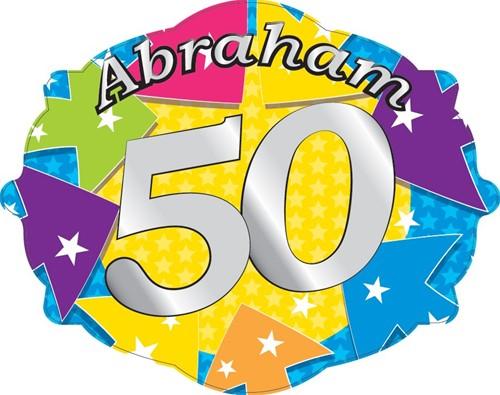 Kroonschild - Deurbord Fitte Abraham 50