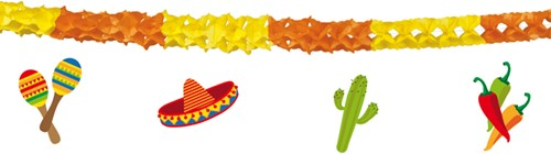 Slinger Fiesta Dubbelzijdig 4mtr