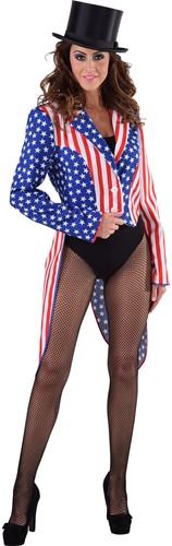 Dames Slipjas Amerika Stars and Stripes