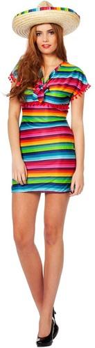 Damesjurk Mexicaanse Rainbow