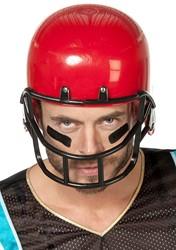 American Football Helm Rood Luxe Groot