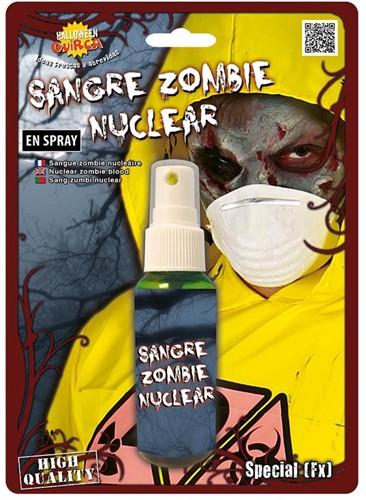 Zombie Bloed Groen Spray (45ml)