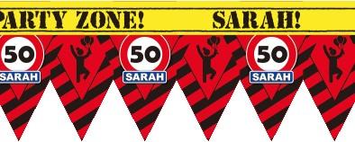 Markeerlint Party 50 Jaar Sarah