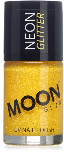 UV Nagellak Glitter Goudgeel (14ml)