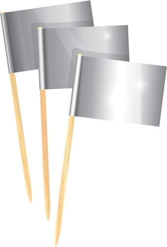 Prikkers Zilver (50st.)