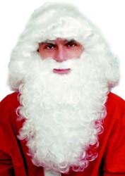Baardstel Kerstman Luxe Wit