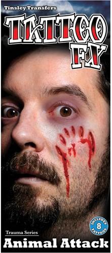Wond Tattoo FX - Animal Attack