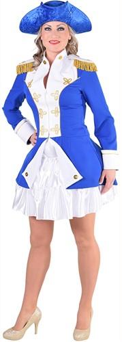 Garde Jas Blauw-Wit voor dames