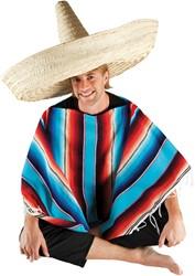 Mexicaanse Sombrero Naturel 100cm