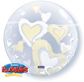 Double Bubble Hearts Ivory