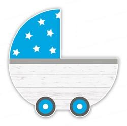 Tuinbord (verhuur) - Kinderwagen Jongen