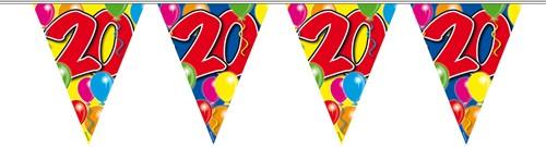 Vlaggenlijn 20 jaar 10mtr
