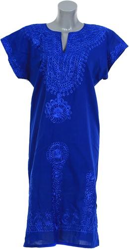 Egyptische Dame Original Blauw