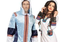 Carnavalsaccessoires Eskimos