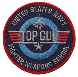 Embleem Top Gun Fighter