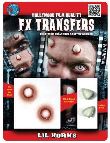 Professionele Schminkset FX - Duivel Hoorntjes