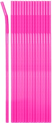 Jumbo Rietjes Neon Pink 25st (44cm)