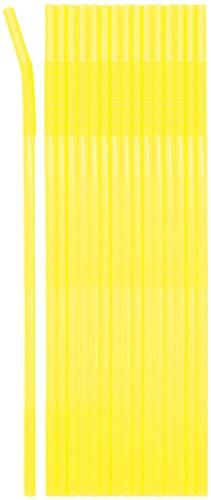 Jumbo Rietjes Neon Geel 25st (44cm)