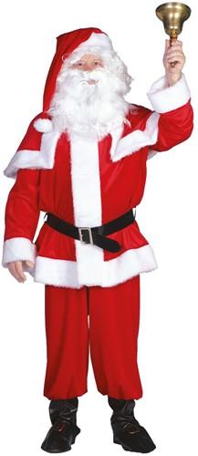 Kostuum Kerstman Fluweel Imitatie