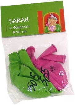 Ballonnen 6st Sarah