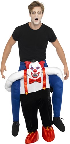 Piggyback Kostuum Enge Clown