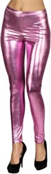 Legging Metallic Luxe Roze