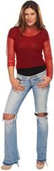 Nethemdje volwassenen Rood