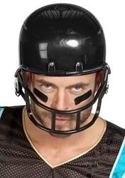 American Football Helm Zwart Luxe Groot