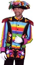 Carnavalsjas Rainbow voor heren