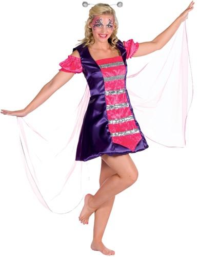 Dameskostuum Vlinder Luxe
