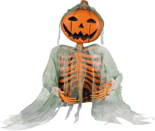 Halloween Decoratie Mr. Pumpkin (52cm)