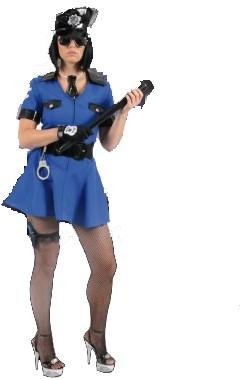 Sexy Politie Agente