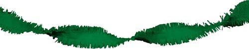 Crepeguirlande Groen Brandveilig (24m)-2