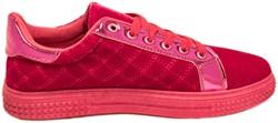 Dames Schoenen Toppers Pink Luxe