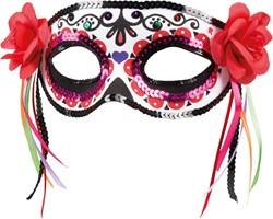 Oogmasker Day of the Dead La Patrona