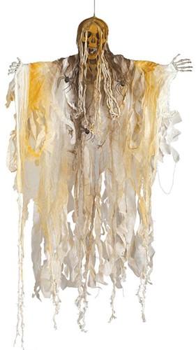 Hangdecoratie Skelet met Licht (140cm)