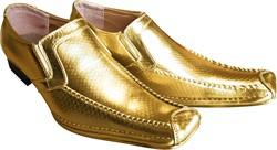 Disco Schoenen Glitter Goud