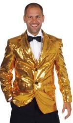Colbert Pailletten Luxe Gevoerd Goud