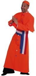 Kostuum Kardinaal Luxe Oranje