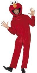 Kostuum Elmo Sesamstraat