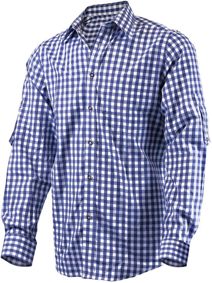 Overhemd Donkerblauw.Tiroler Overhemd Donkerblauw Luxe Katoen Poly Carnavalsland