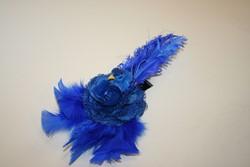 Broche Vogel Blauw Luxe