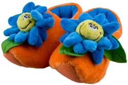 Happy Flower Pantoffels Oranje
